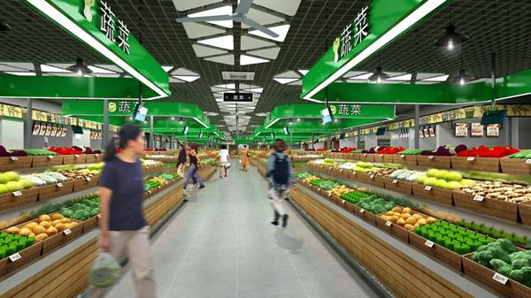 如何设计出让人愿意逛逛的农贸市场?