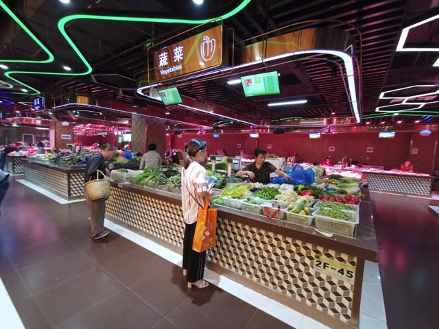 农贸市场设计效果图 - 华信设计研究中心