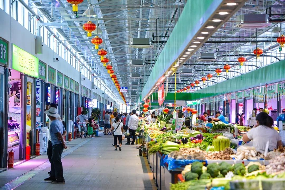 朝阳区最大的菜市场!重新回来了!又新鲜又丰富又便宜