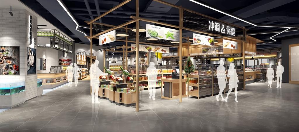 生鲜行业黑马T11生鲜超市在北京国奥城开出第一家社区店